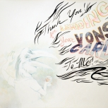 """""""Thank You! for Lending Your Vons Card To Me!"""", Pencil on Paper, 2006."""