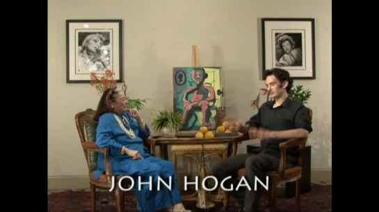 This is a picture of John Hogan on the Joan Quinn Profiles.