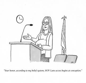 Gag Cartoon, The Los Angeleser, 2018